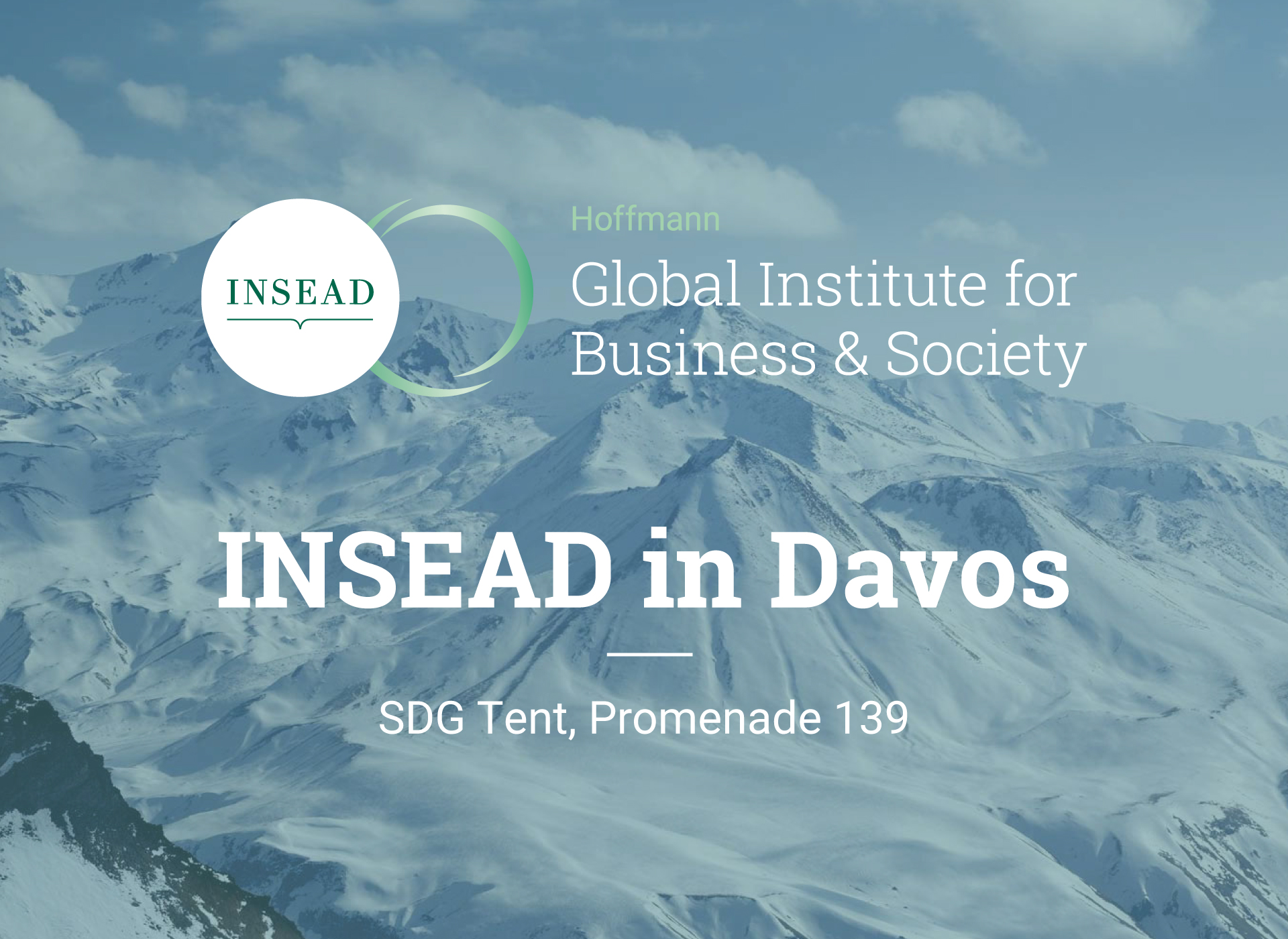 INSEAD in Davos