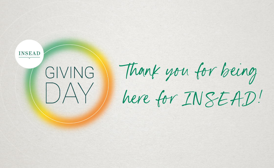 INSEAD Giving Day 2020