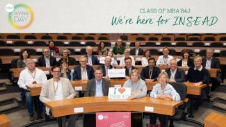 MBA'84J Reunion Class Gift – October 2019